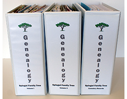 genealogy research binder
